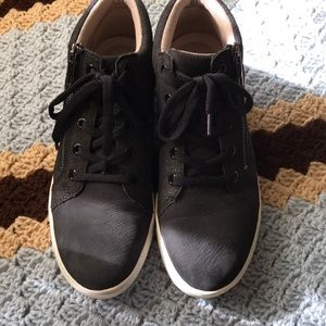 Naturalizer black nubuck sneakers